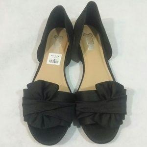 NWT Womens BRASH slip on shoes - Black - Sz 6.5